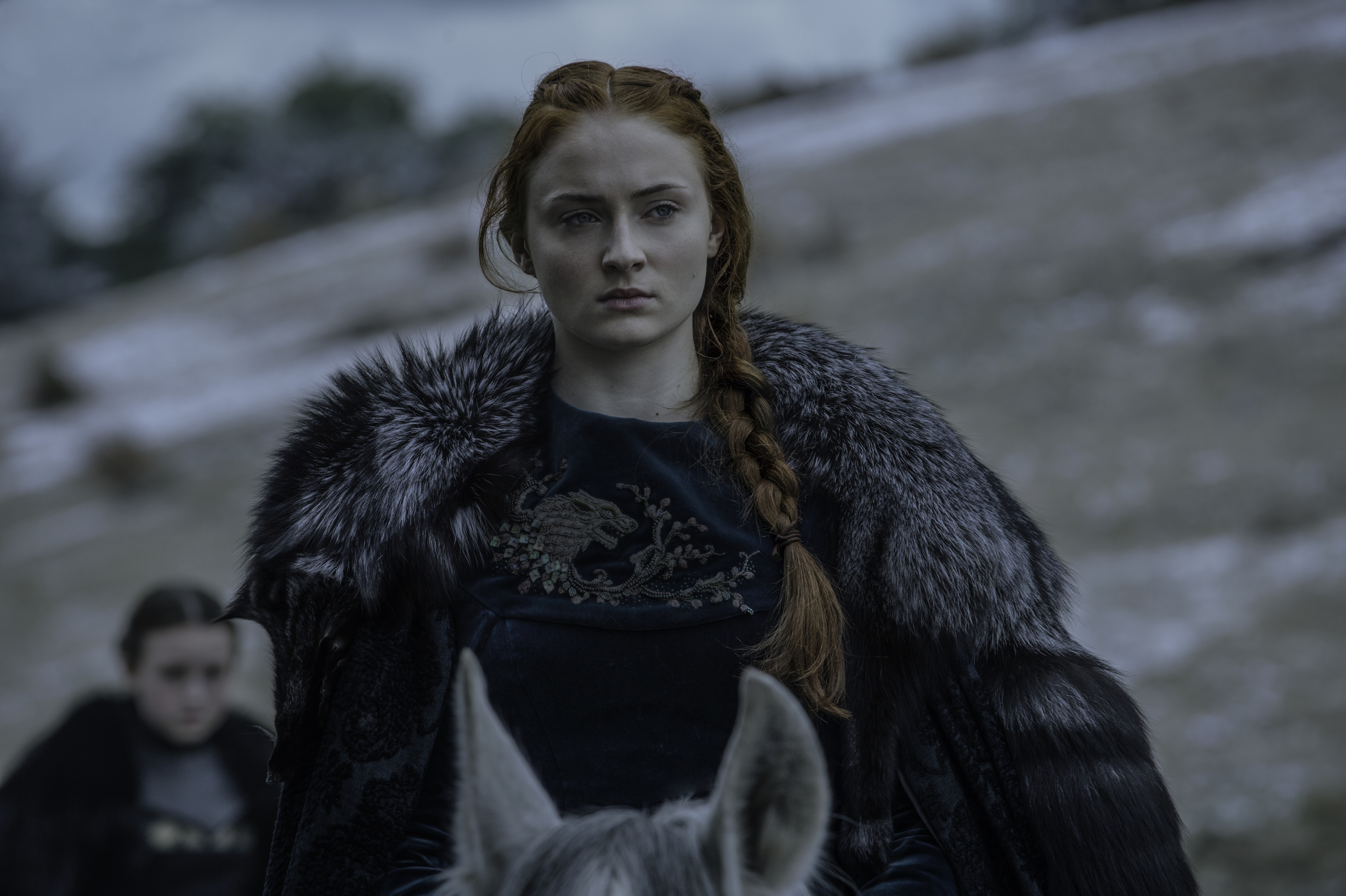 Here's who Sophie Turner wants to end up on the Iron Throne (you know, if it's not Sansa)