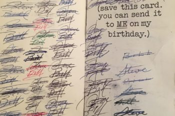These two BFFs have exchanged the same birthday card for 47 YEARS