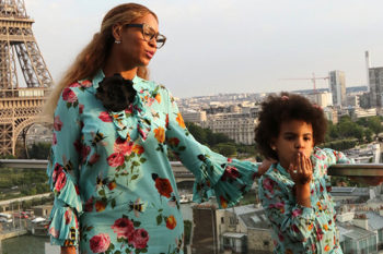 Beyoncé and Blue Ivy give us the ultimate in #twinning goals in Paris