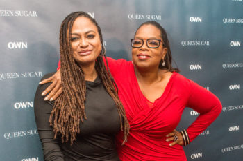 "Hello! Oprah is going to be in ""A Wrinkle In Time!"" That is all!"
