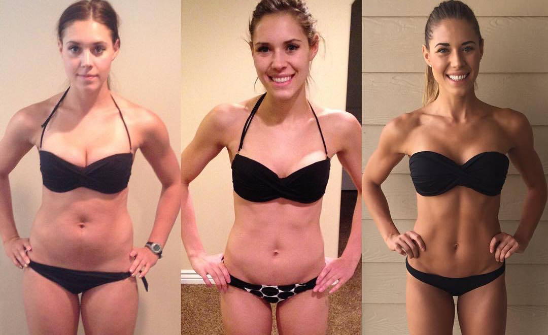 This fitness star's three photos prove that prove that the number on your scale is meaningless
