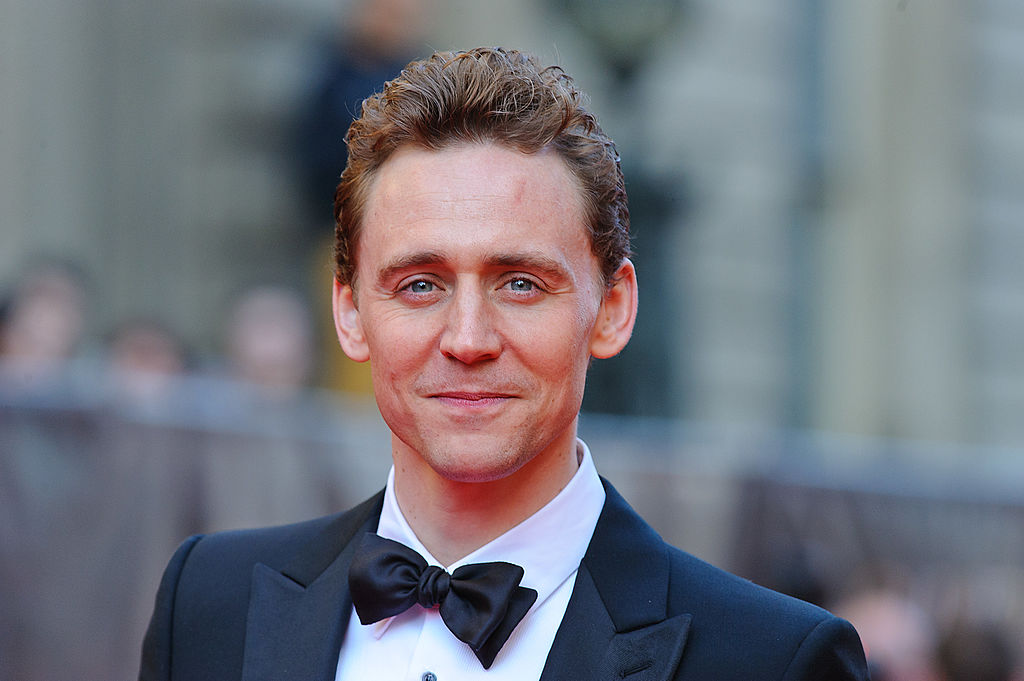 "Tom Hiddleston is this year's recipient of the ""Rear of the Year"" award!"