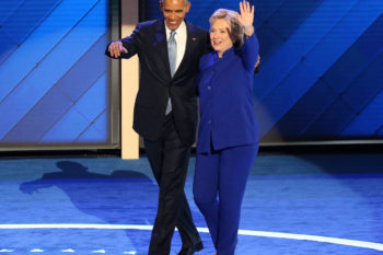 The torch is passed: Obama says Hillary is more qualified than him or Bill in DNC speech