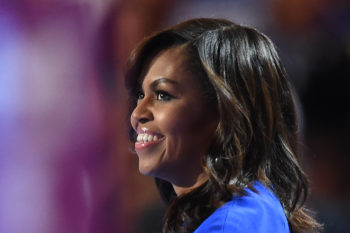 Michelle Obama's response to her husband's epic DNC speech is everything we aspire to be