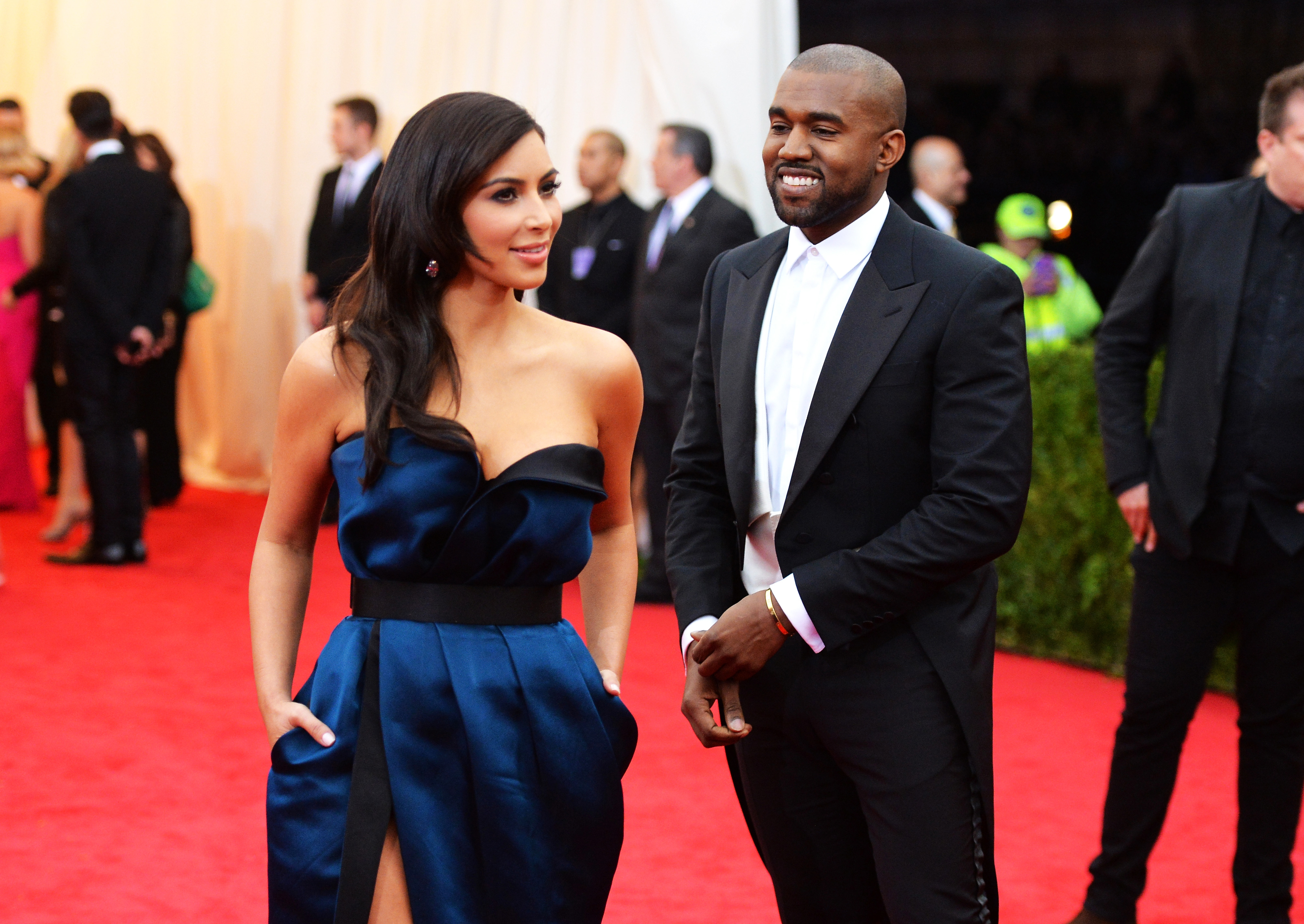 Kanye West has *very* strong feelings on all of Kim K's nude selfies