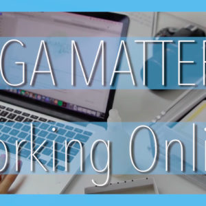 Yoga Matters: Working Online