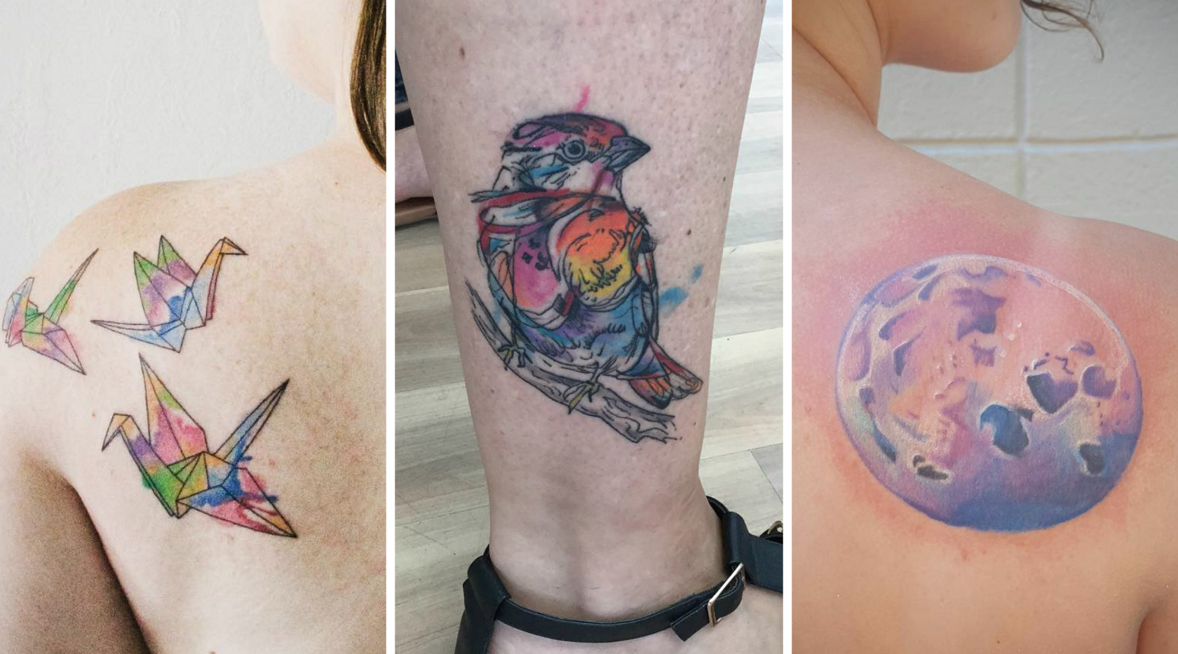 19 watercolor tattoos that look like something straight out of an artsy dream