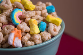 You can now buy just the Lucky Charms Marshmallows, because life is grand