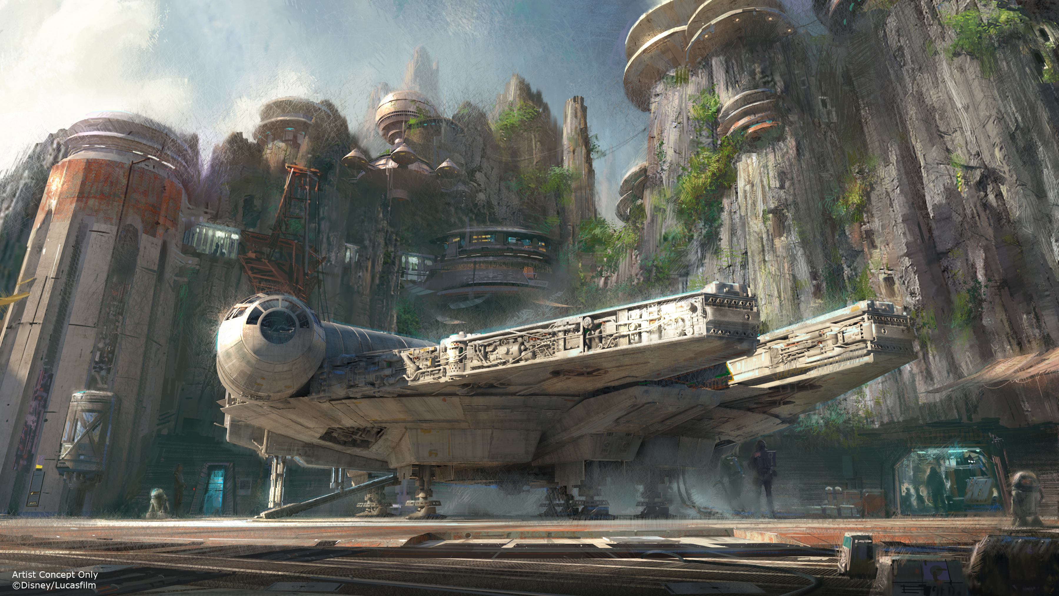 "Hold up, did we just learn when ""Star Wars"" Land is going to open at Disneyland?"