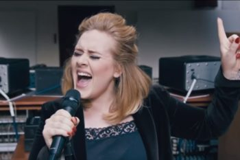 Adele met her impersonator at her concert and it was legit everything