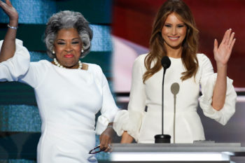 This Democratic congresswoman brilliantly copied Melania Trump's RNC outfit