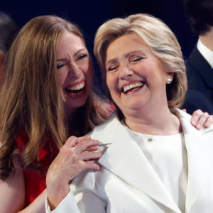 "Chelsea Clinton says Hillary ""makes me proud every single day,"" makes us want to call our moms"