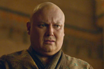 "Varys' greatest ""Game of Thrones"" secret is that he has a beautiful head of hair IRL"