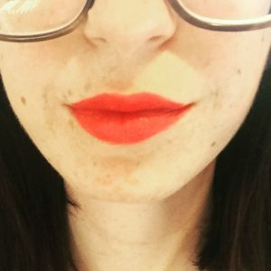 This easy tangerine lipstick will make you feel like every day is a Friday