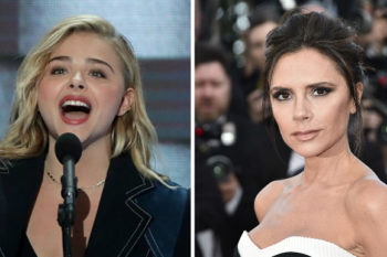 Victoria Beckham just supported her son's GF (Chloë Grace Moretz) with all the #GirlPower