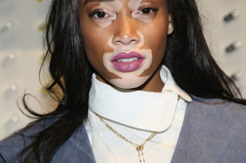 Winnie Harlow is starring in the new Swarovski campaign and she is as flawless as ever