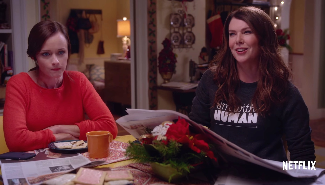 "That ""Gilmore Girls"" trailer? Yeah, it's not part of the revival"