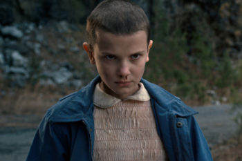 "The actress who played ""Eleven"" in ""Stranger Things"" buzzed her hair because of THESE actresses"