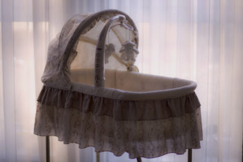 This mom's hysterical online ad for a 100-year-old bassinet shows the buyer's remorse struggle is real