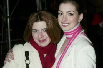 "Heather Matarazzo (aka Lily Moscovitz) talks about meeting Anne Hathaway the first time in ""Princess Diaries"""