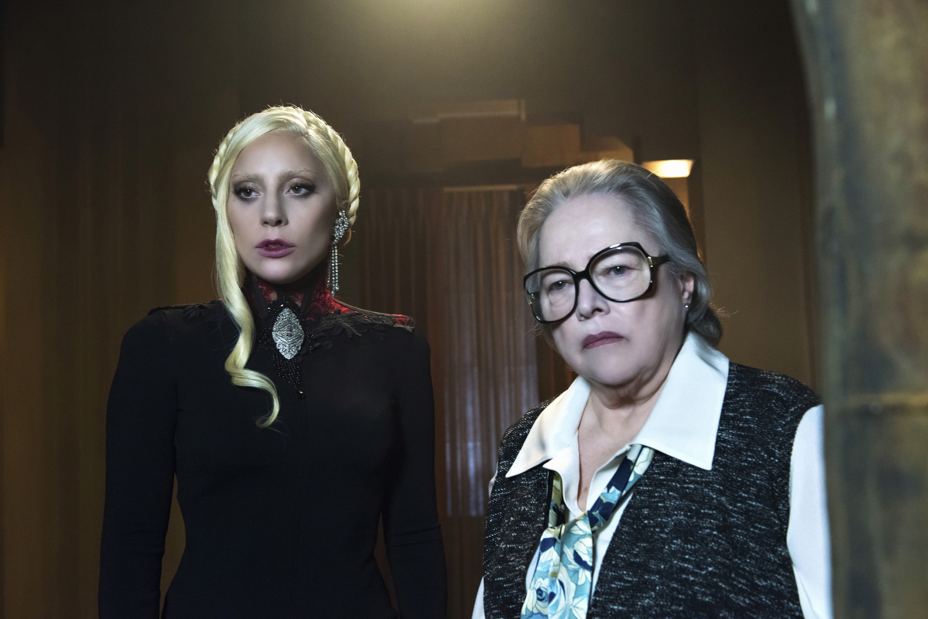 "Supposedly *THIS* is the new theme of ""American Horror Season"" 6, and we are super intrigued"