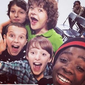 """Awww, the kids on """"Stranger Things"""" are actually adorable BFFs in real life"""
