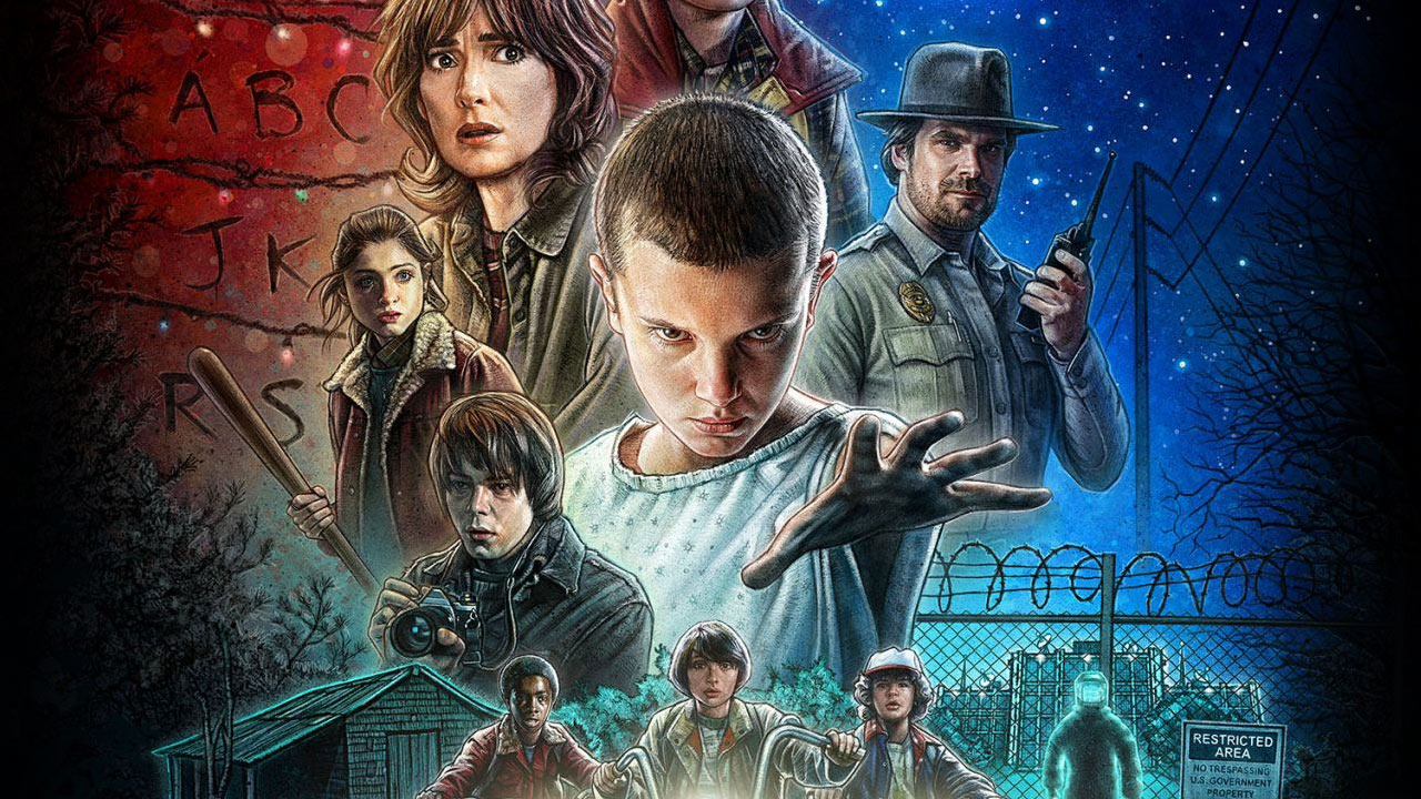 "Someone reimagined ""Stranger Things"" as old school video game and we need to play it"