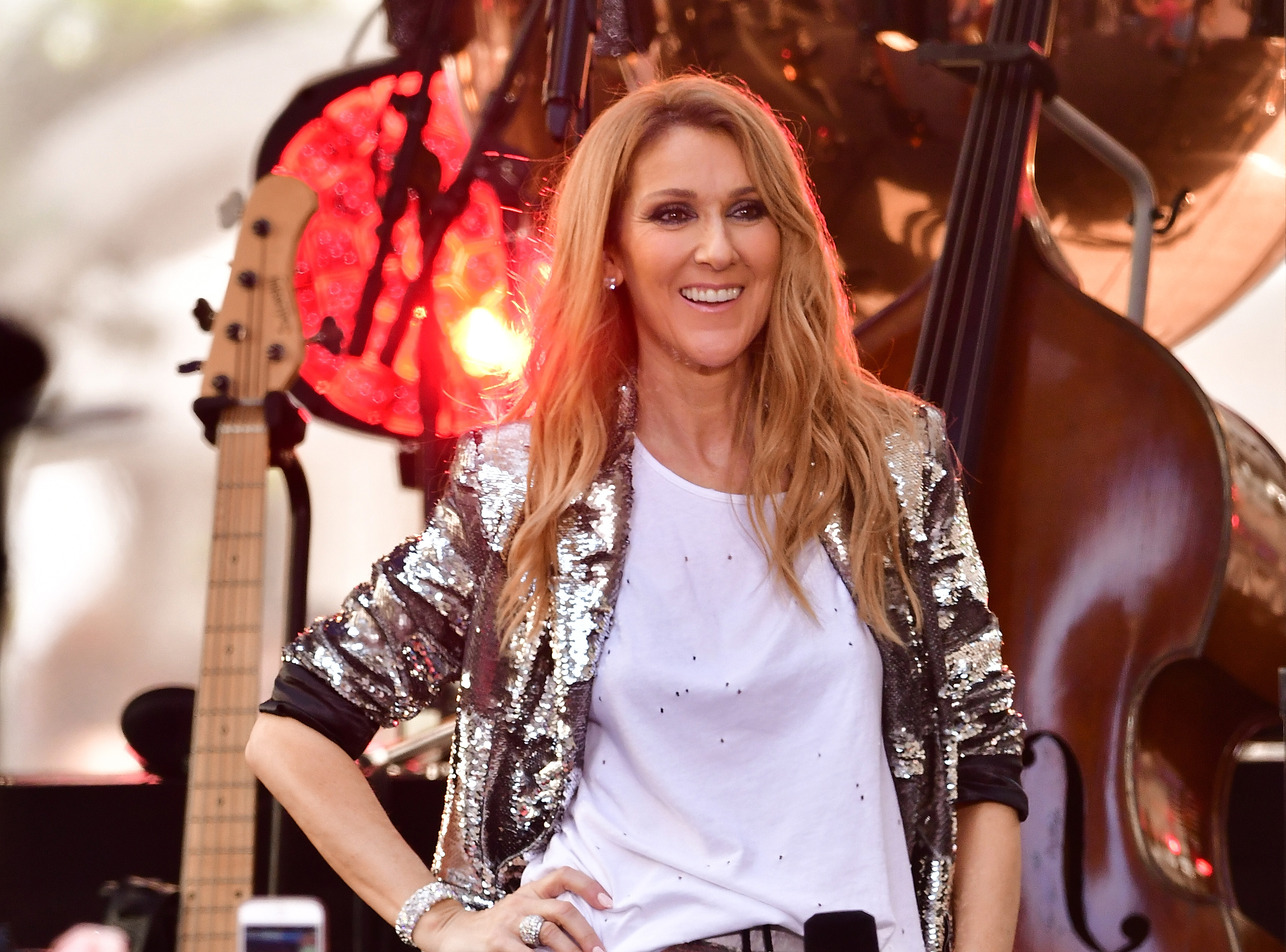 Celine Dion just covered Britney Spears, Nelly, and Missy Elliot and it's as brilliant as it sounds