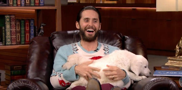 Jared Leto battling Jimmy Fallon for puppies makes our dreams come true