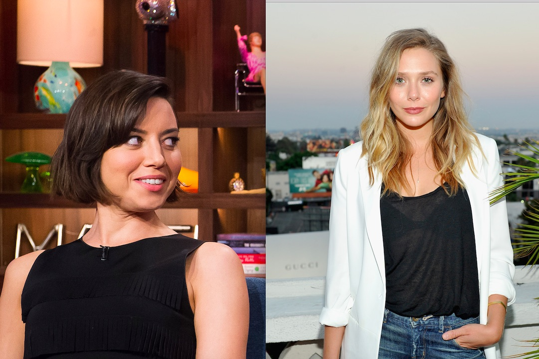 Aubrey Plaza and Elizabeth Olsen are set to star in a new movie together, which clearly is the best news ever