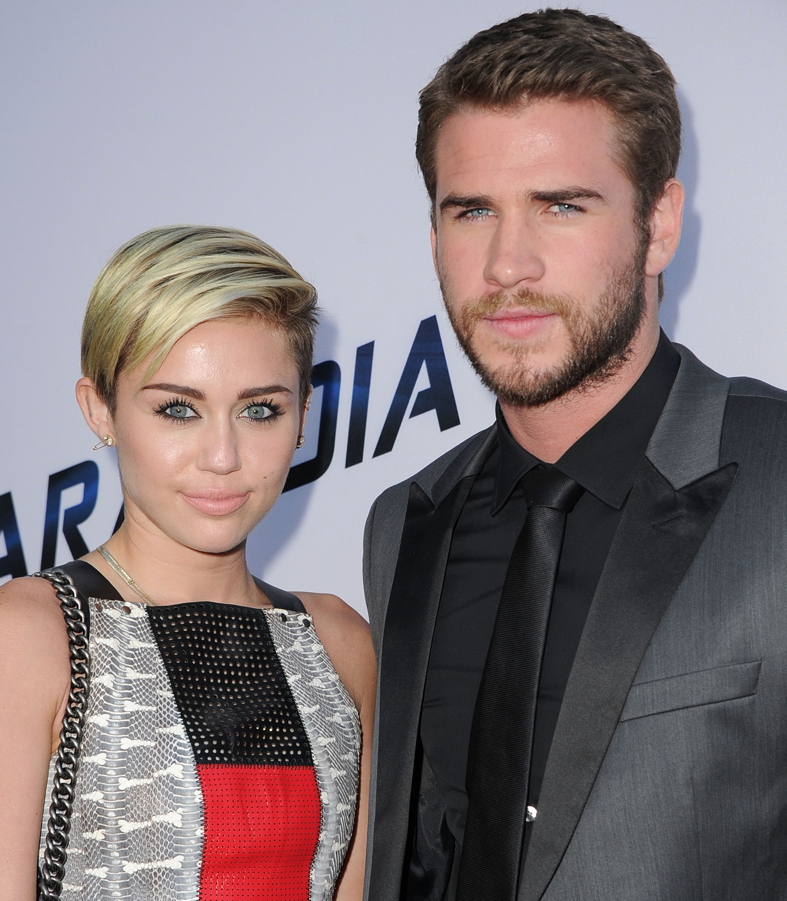 Too cute: Miley Cyrus and Liam Hemsworth sing and bicker in the car in new Instagram