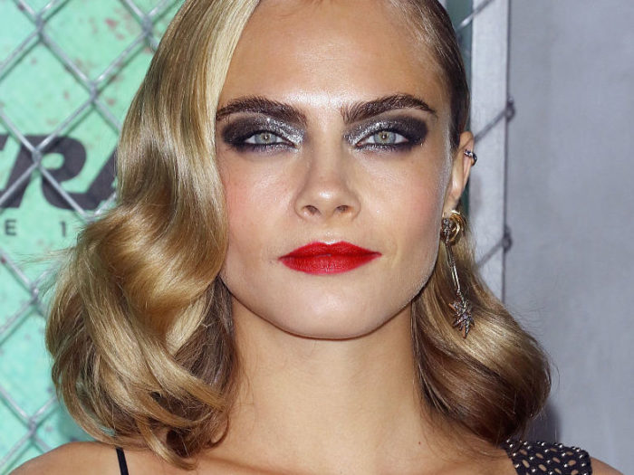 Cara Delevingne looks like a modern-day Wednesday Addams ...