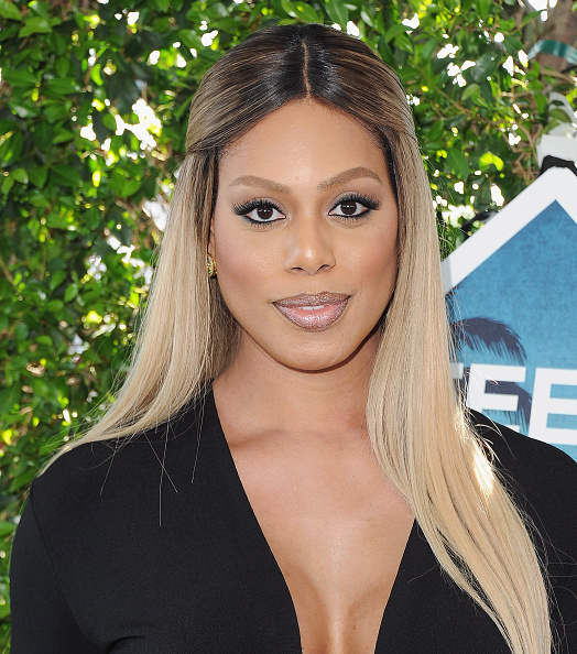 Laverne Cox is undeniably the best at using Snapchat filters