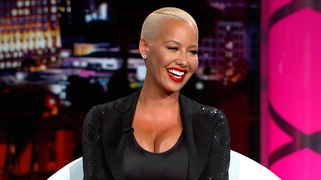 Amber Rose blessed us with her feminist wisdom about cellulite