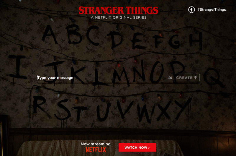 For Every Quot Stranger Things Quot Fan You Can Now Create Your