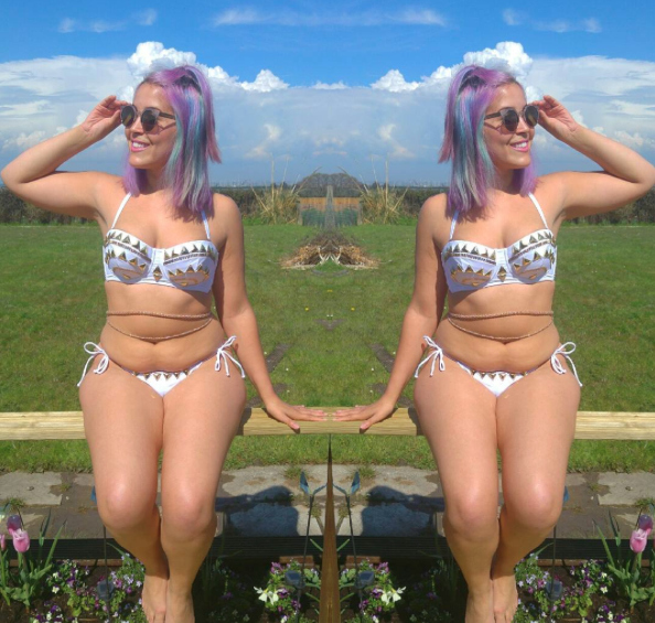 This Instagram model is done fighting her body for everyone else