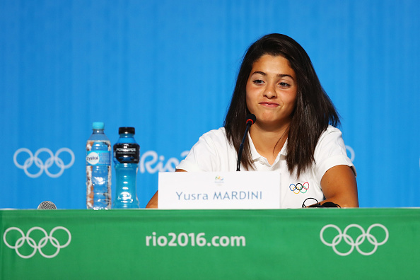 An incredible Syrian teen who swam for her life as a refugee is now competing in the Olympics
