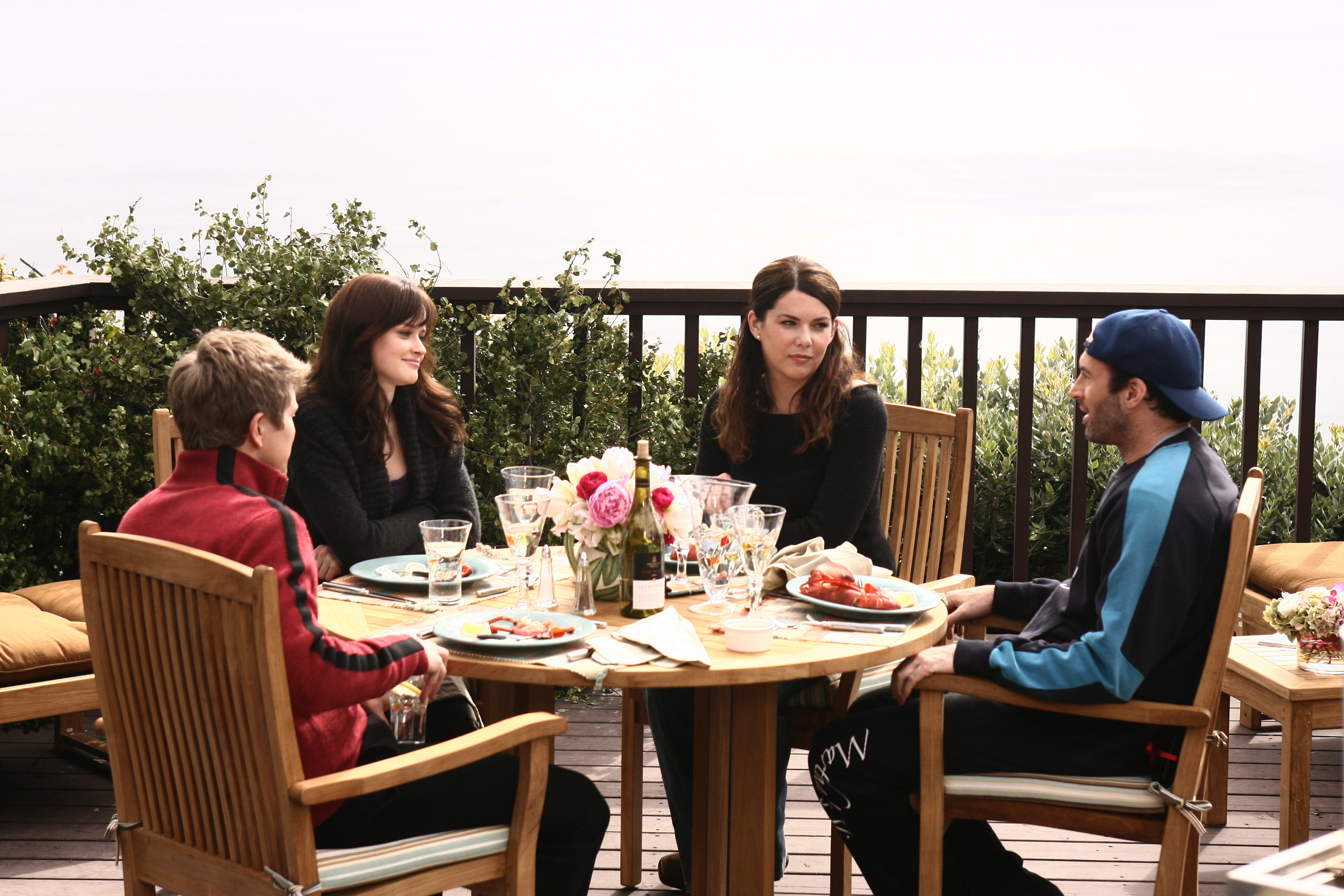 "So...there's a rumor that someone's going to be pregnant in the ""Gilmore Girls"" revival"