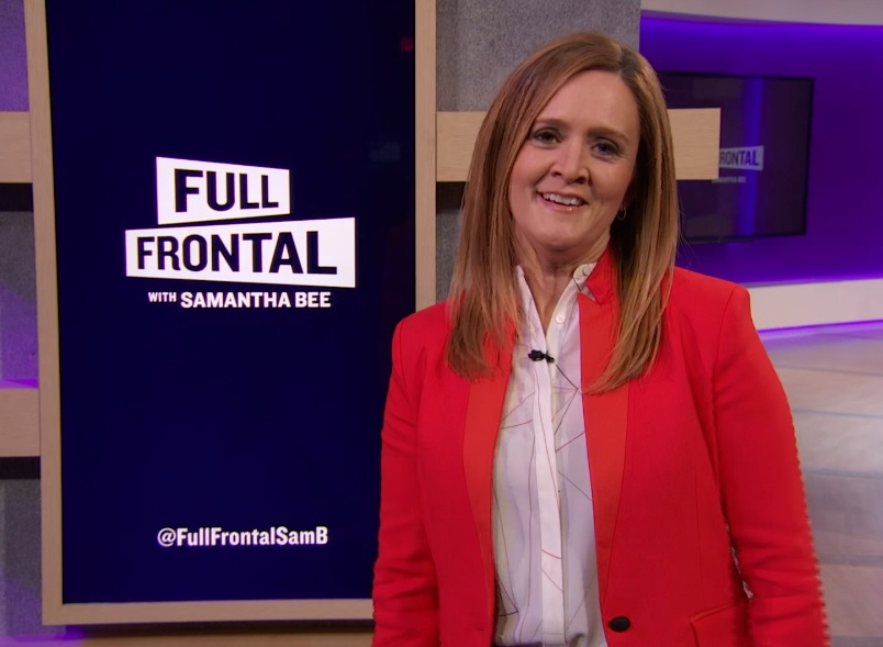In one perfect tweet, Samantha Bee took down Trump's comments about sexual harassment at work