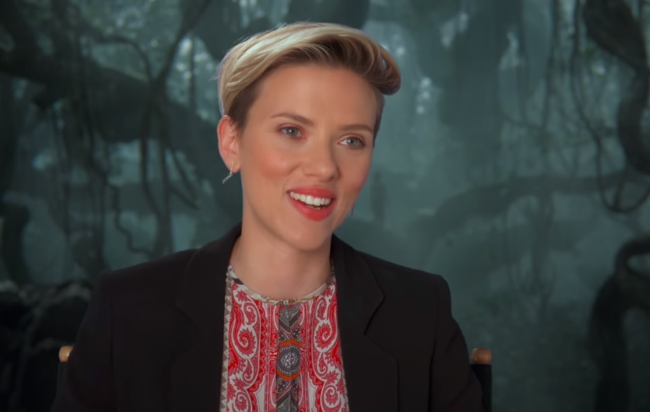 "Watch Scarlett Johansson reinvent the frightening Kaa from ""The Jungle Book"""