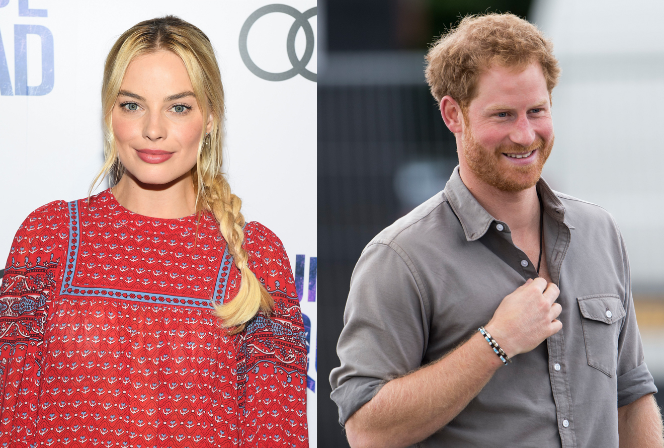 Margot Robbie is on texting terms with Prince Harry and we die