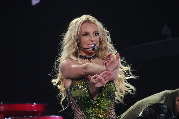 Britney Spears' new album cover is here and it is giving us INTENSE nostalgia
