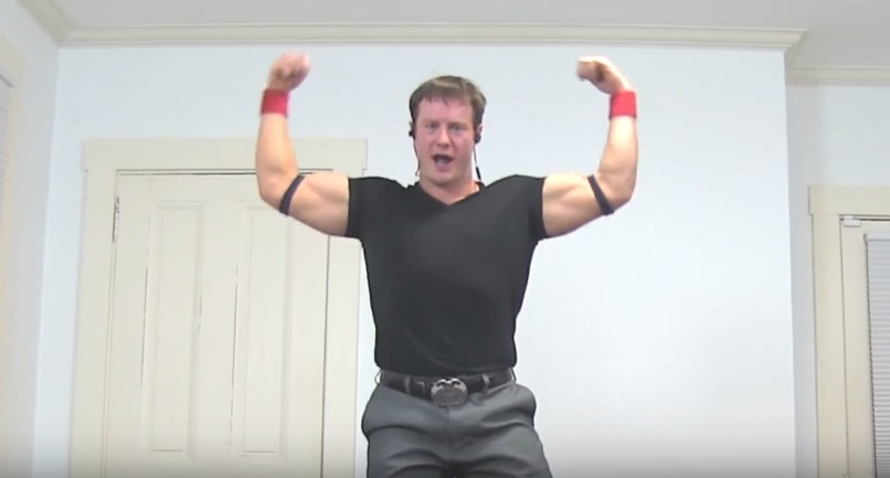 """This guy's interpretive dance to Katy Perry's Olympic anthem """"Rise"""" is surprisingly the best thing ever"""