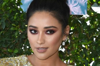 Shay Mitchell is now super blonde, and we are here for it