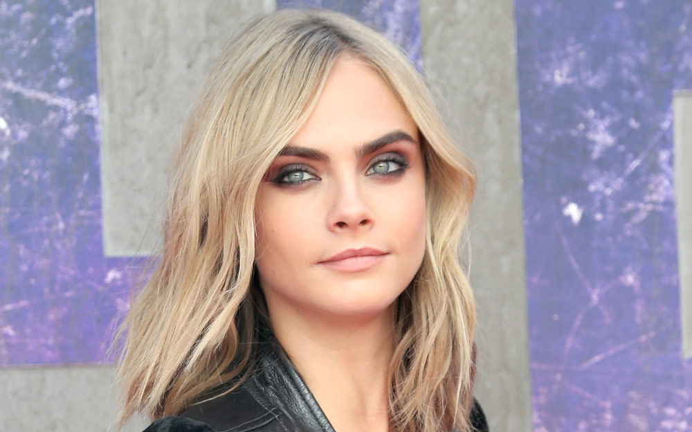 """Cara Delevingne looked like the most badass biker chick at the """"Suicide Squad"""" premiere"""