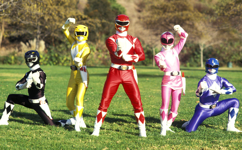 FYI, the Pink Power Ranger from your childhood is still a kick-ass star today