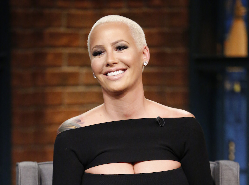 Amber Rose Looks Like An Entirely Different Person In Her