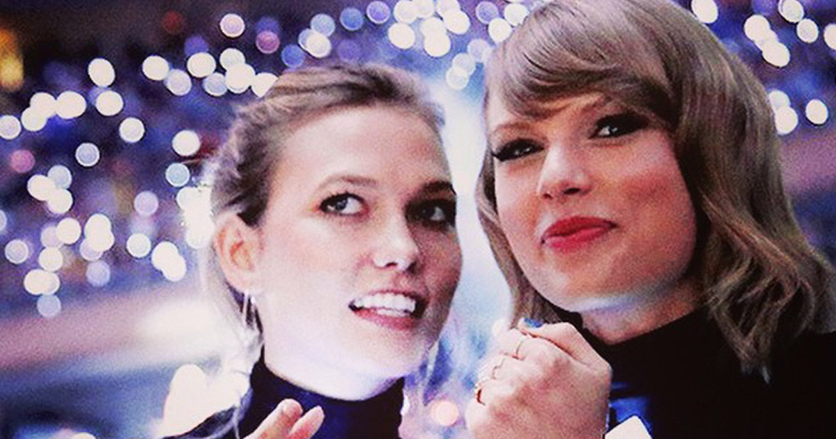Karlie Kloss and Taylor Swift share their FaceTime chat, prove they are just like all long-distance BFFs