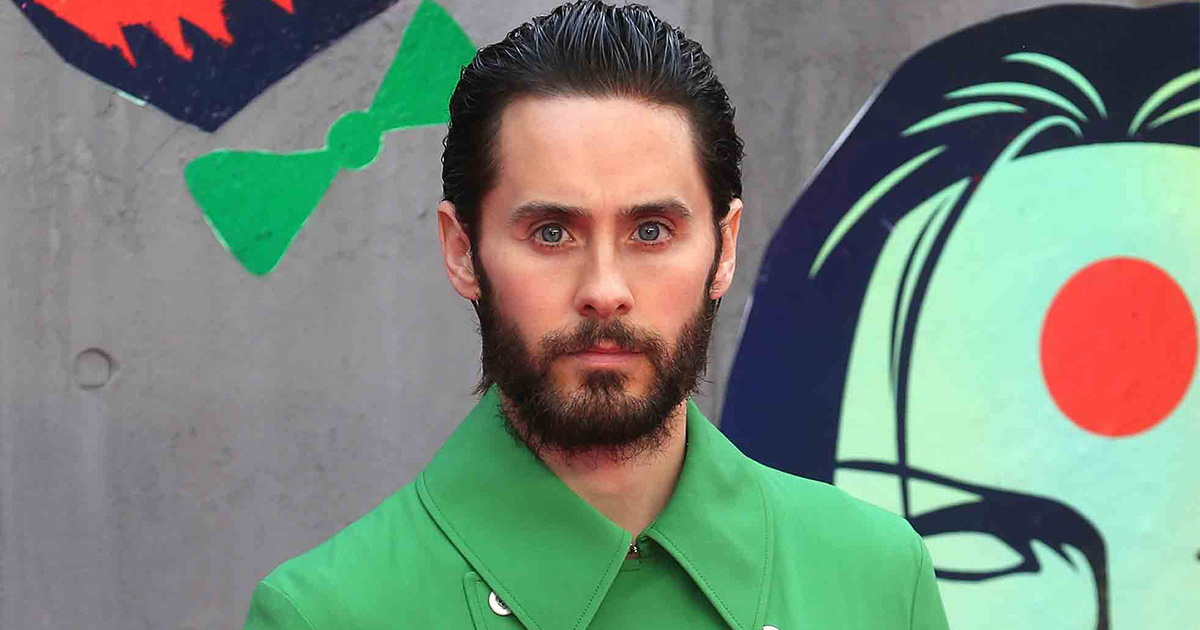 Jared Leto obsessing over this green coat will totally warm your heart