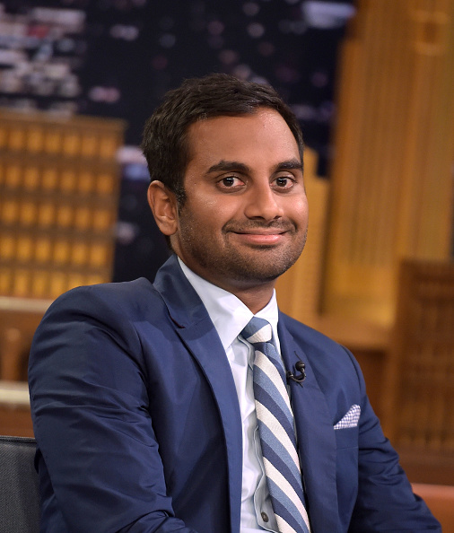 You need to watch Aziz Ansari hilariously use a rap beef analogy to describe Trump's latest offense